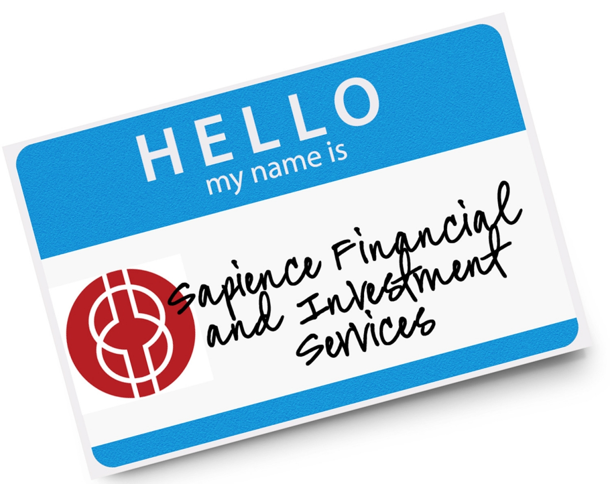 Hello, we're Sapience Financial and Investment Services, nice to 'online meet you'